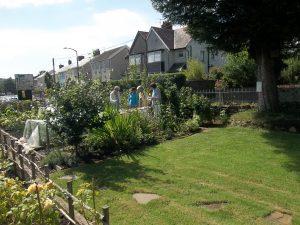 The pre San Fairy Ann garden
