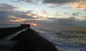Porthcawl Harbour at Stupid o'clock in the morning.