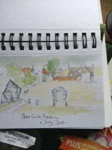 Avebury Sketch 1
