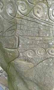 Carvings at Nantgwrtheyrn