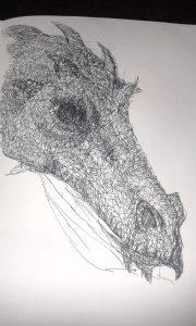 The Dragon of Cwm Garw Fechan
