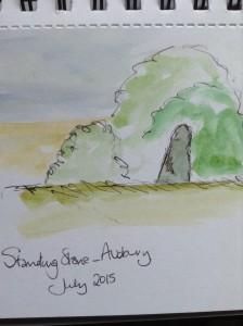 Avebury Sketch 2