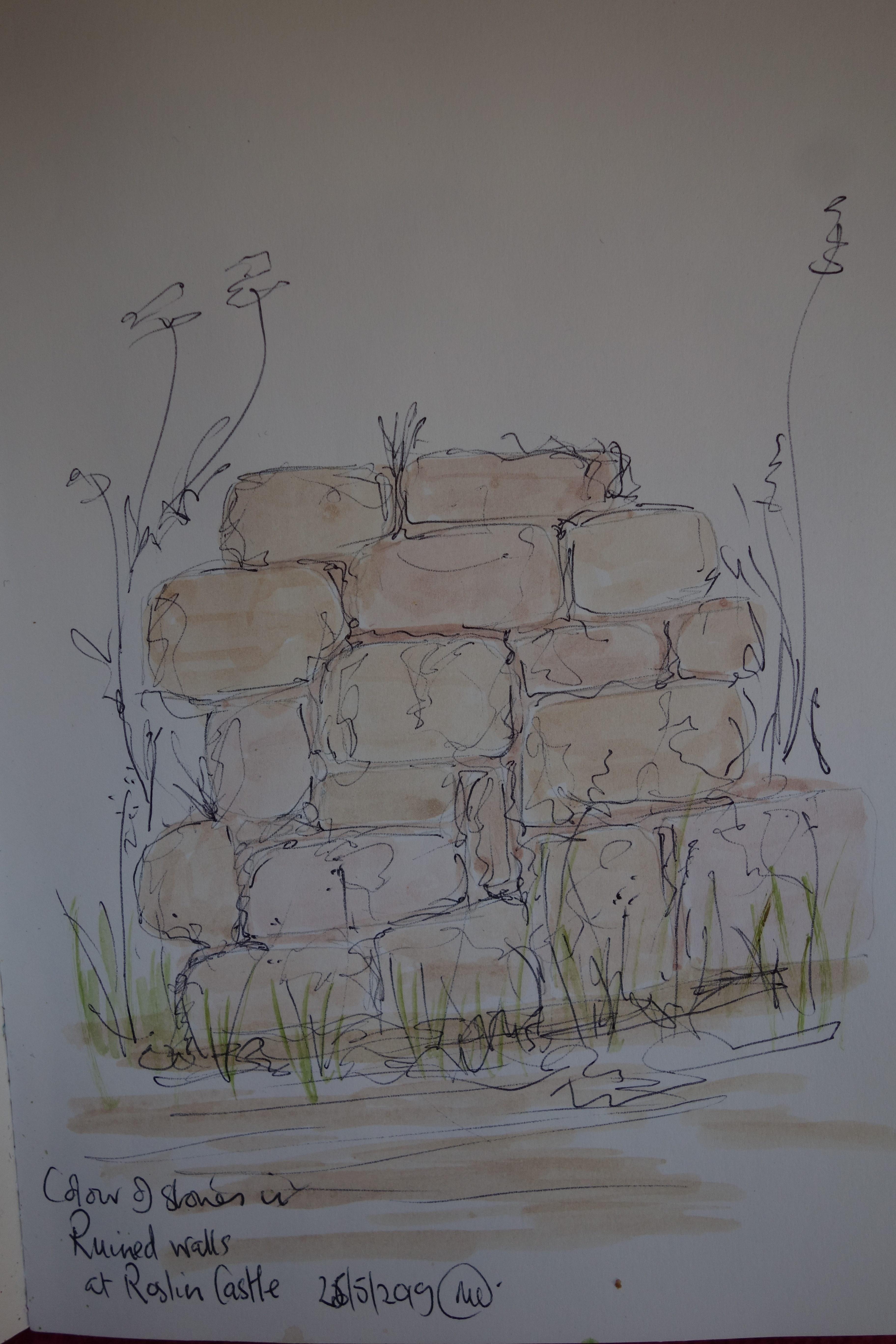 stones at carnasserie castle