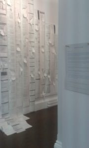 Exhibition work at USW