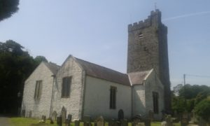 Church at Llansteffan