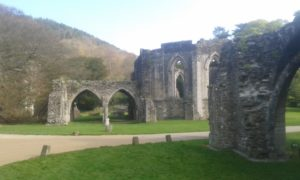 ruin at Margam Park