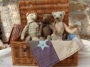 Hand made teddies